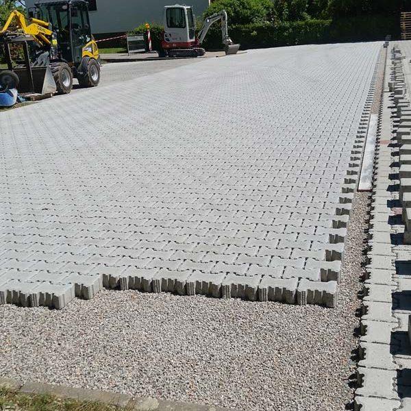Parkplatz professionell bauen