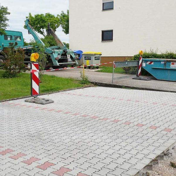 Parkplatz pflastern lassen