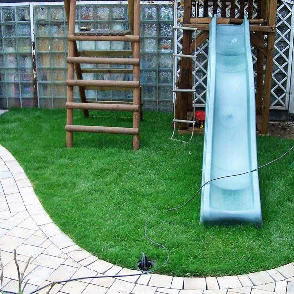 Garten Pflasterarbeiten